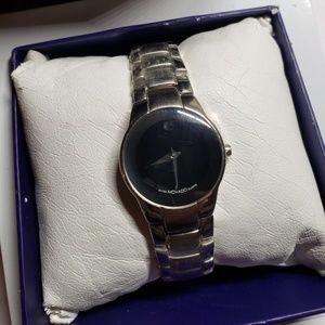 Movado Museum Black Dial Watch